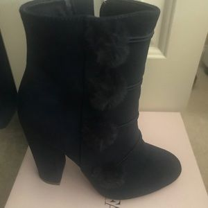 JUST FAB Navy Boot
